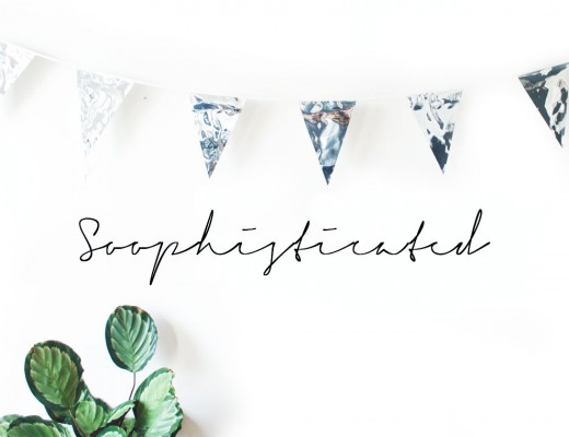 Soophisticated!