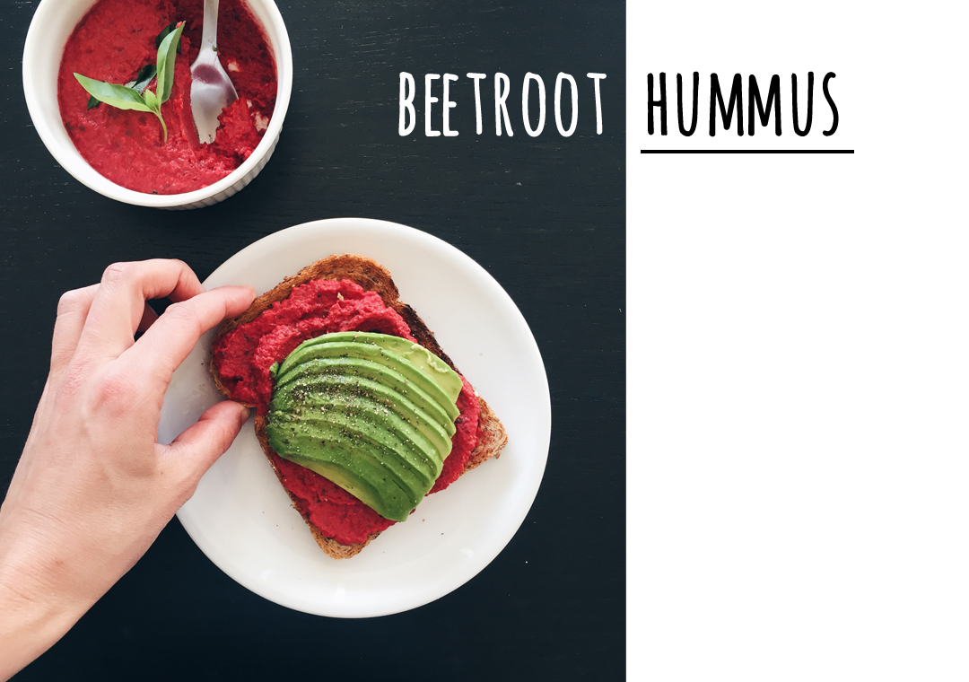 Beetroot Hummus - Soophisticated