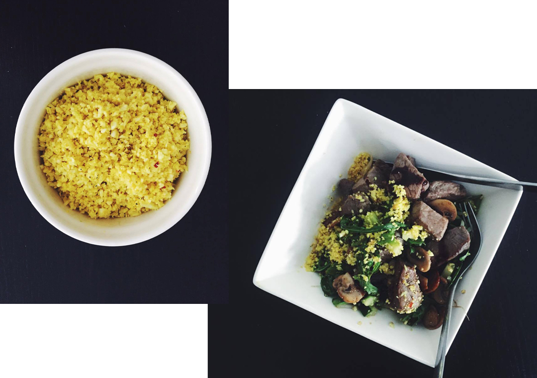 Cauliflower Rice - Soophisticated
