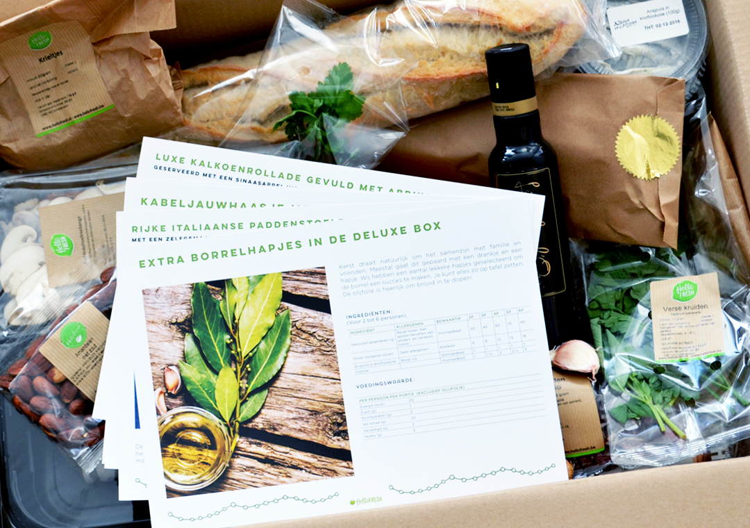Soophisticated HelloFresh Christmas Box Deluxe Review