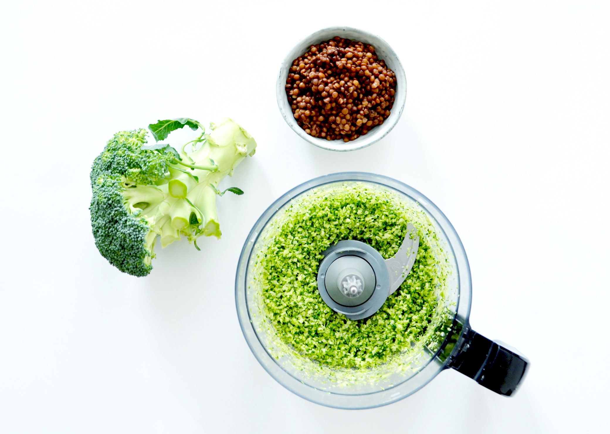 Broccoli Rice with Lentils - Soophisticated.com