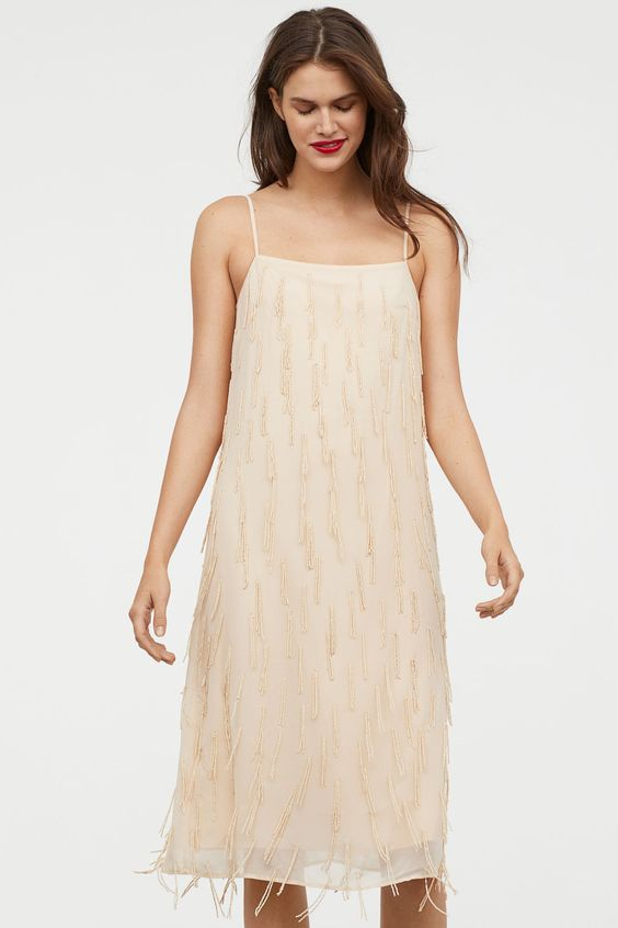 H&M - Dress with beads